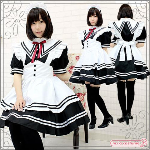 "Maid clothes ""Sailor-style maid (B)"" - JapaneseGoods.jp - 1"