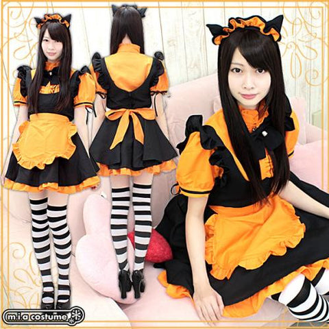 "Maid clothes ""MAO Maid pumpkin"" - JapaneseGoods.jp - 1"