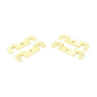 Brass Roll Centre Shim Plate Set for Awesomatix A800MMX (LA) - 2.0mm