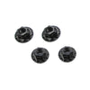 Large Contact Lightweight Alloy Wheel Nuts (Black)