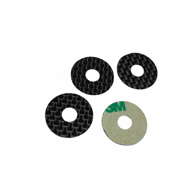 1UP Racing Carbon Body Washers (Assorted Sizes)