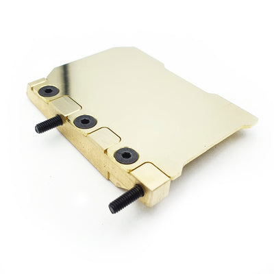Adjustable Floating Electronics Plate Set for Awesomatix A800MMX - Brass (23g)