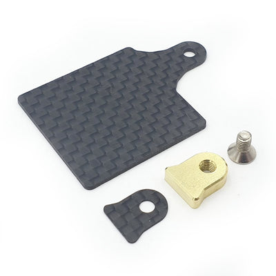 Carbon LCG Floating ESC Plate Set for Awesomatix MMX/MMCX