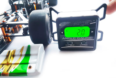 RC MAKER Digital Camber & Toe Gauge for 1/10th Onroad TC & F1