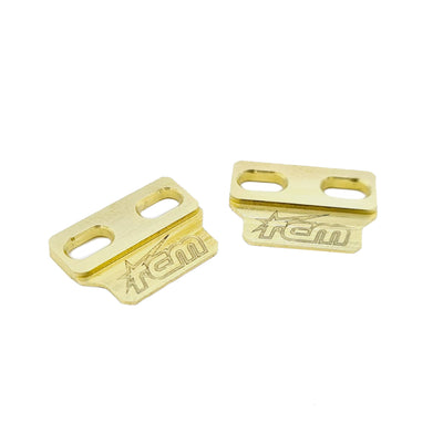 Brass Universal Floating Battery Mounts (7.5-13mm Mounting Holes)
