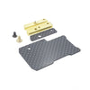 Floating Electronics Weight Plate Set for XRAY T4'20 (Carbon)