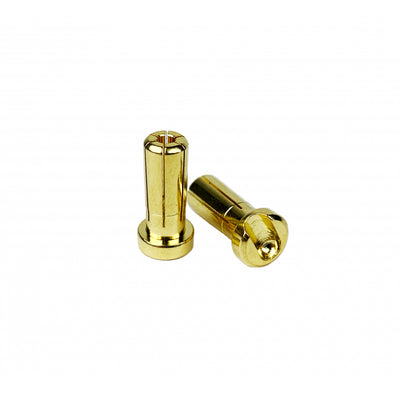 1UP Racing LowPro Bullet Plugs - 5mm (2pcs)