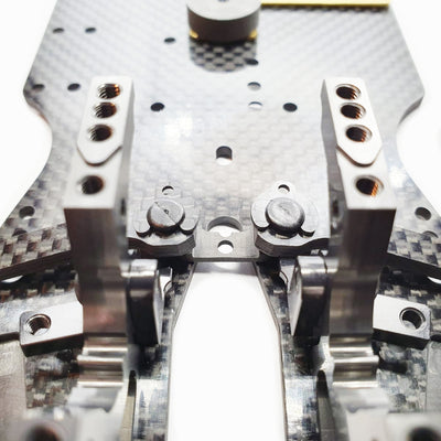 HD Carbon Suspension Arm Clips for Awesomatix