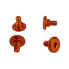 1UP Racing Servo Mounting Screws (Orange)(4)