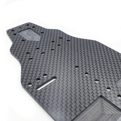 SlimFlex 2.2mm Carbon Chassis for XRAY T4'20