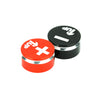 1UP Racing LowPro Bullet Plug Grips – Red/Black