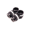 Aluminium Setup Wheel/Station Nuts (Black/Silver) - V2 (4)