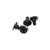 1UP Racing Servo Mounting Screws (Black)(4) - 3x4mm