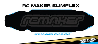 SlimFlex 2.2mm Carbon Chassis for Awesomatix A800 MMX/MMCX