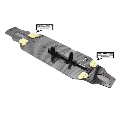 SlimFlex 2.2mm Carbon Chassis for XRAY T4'21