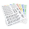 Premium Pre-Cut Decal Sheet - Xray
