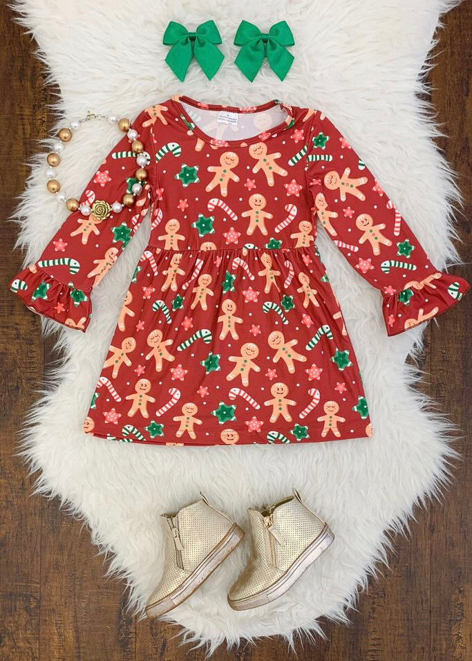 Gingerbread Girl Dress