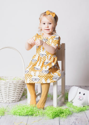 Yellow Bunny Dress