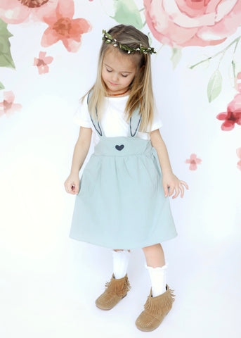 Mint Bunny Ears Dress