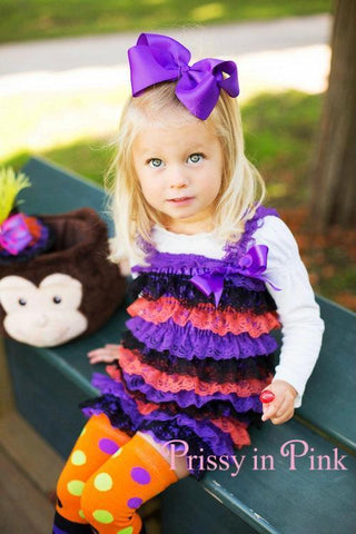 Wee Witch Lace Petti Romper