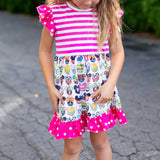 Mouse Friends Dress (Short Sleeve)
