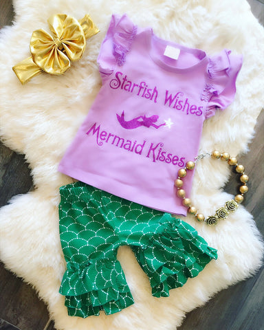 Starfish Wishes Mermaid Kisses Outfit