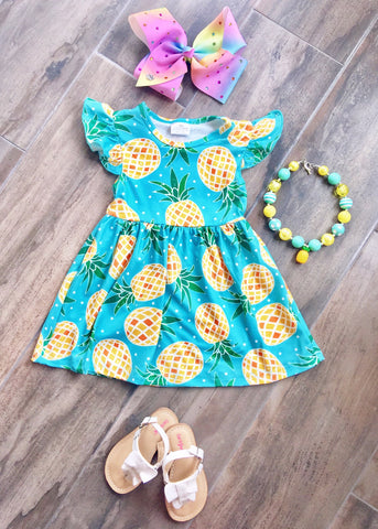 Pineapple Princess Dress