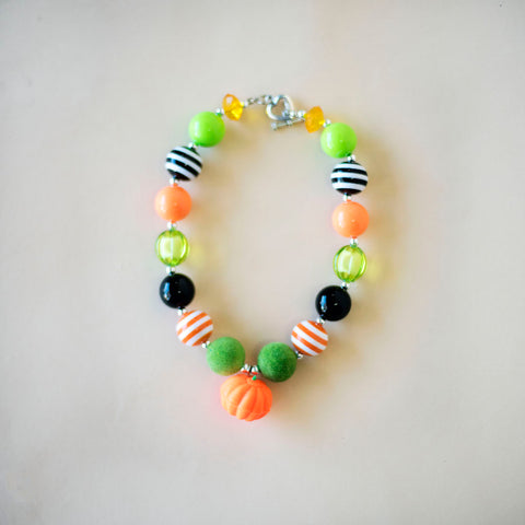Pumpkin Patch Chunky Necklace