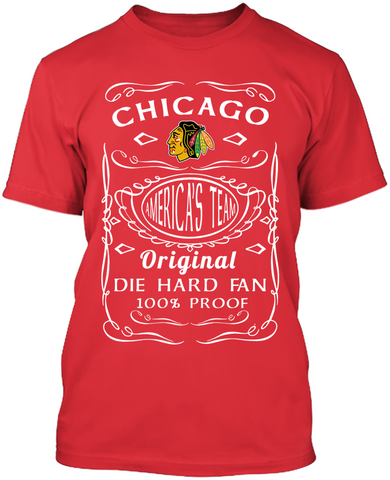 Die Hard Chicago Blackhawks Fan