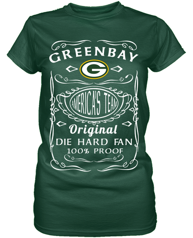 Die Hard Green Bay Packers Fan