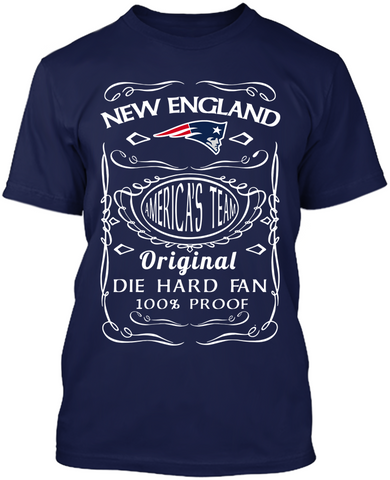 Die Hard New England Patriots Fan
