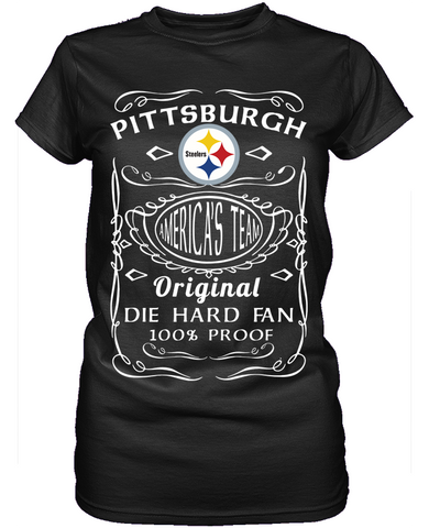 Die Hard Pittsburgh Steelers Fan