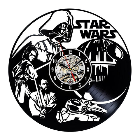 "Star Wars ""Revenge Of The Sith"" Vinyl Record Wall Clock"