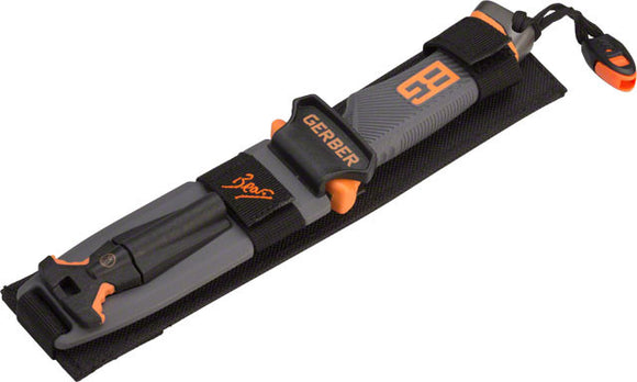 Gerber Gear - Gerber Gear Bear Grylls Ultimate Fixed Blade Knife: Drop Point, Serrated - KakiOutdoor.com - 1