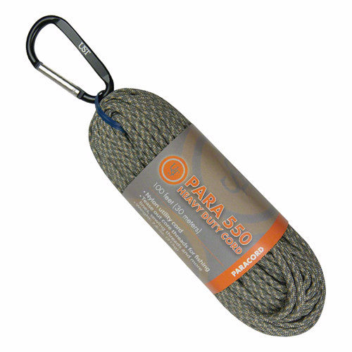 Ultimate Survival Technologies - Ultimate Survival Technologies Para 550 Heavy Duty Cord, 30 meters, Green Camo - KakiOutdoor.com