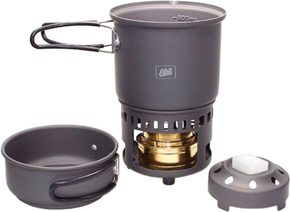 Esbit - Esbit Alcohol Burner and Cookset - KakiOutdoor.com