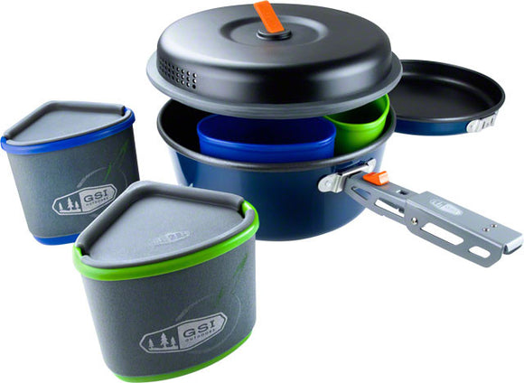 GSI - GSI Bugaboo Backpacker Cookset - KakiOutdoor.com - 1
