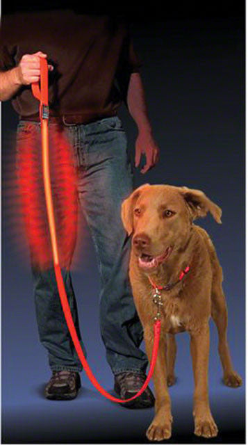 Nite Ize - Nite Ize Dawg LED Pet Leash: Red - KakiOutdoor.com - 1