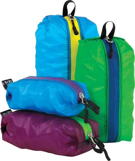 Granite Gear - Granite Gear Air ZippDitty Stuff Sack: Set of 4 Sizes - KakiOutdoor.com