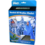 "Grabber - Grabber Hooded All Weather Survival Blanket: 5"" x 7"" Feet, Red - KakiOutdoor.com - 2"