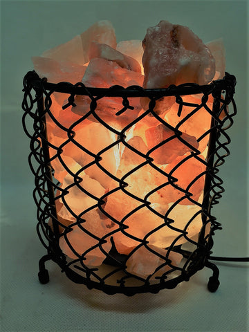 Salt Lamp Net Shape Iron Basket