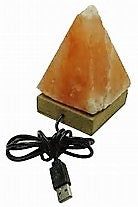 Salt Lamp USB Pyramid
