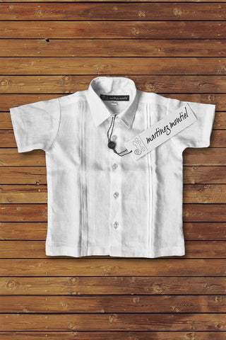 SECOND CHILDREN LINEN SHIRT - Martinez Montiel