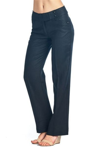 ARIZONA WOMEN'S 100% LINEN PANTS - Martinez Montiel