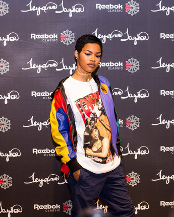 Here's where to get Teyana Taylor's throwback Mary J. Blige tee