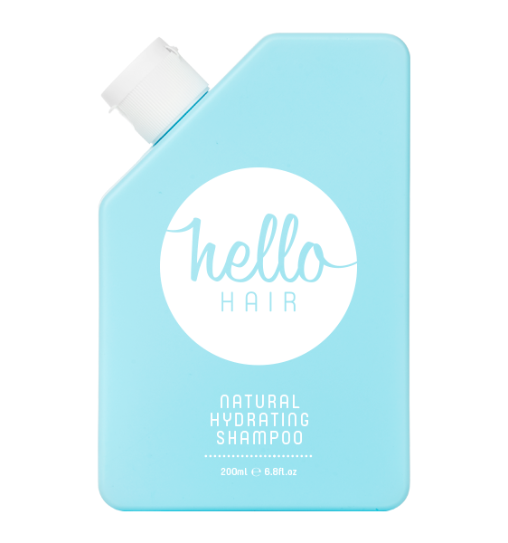 Hello Hair Natural Hydrating Shampoo 200mL | BACK IN STOCK!