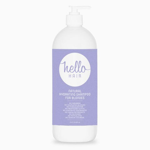 Hello Hair Natural Hydrating Shampoo for Blondes 1L