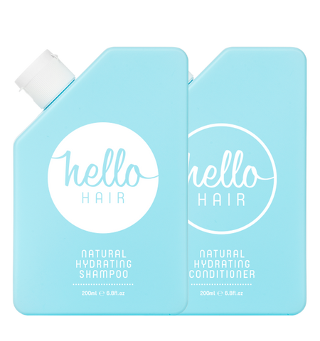 Hello Hair Hydrating Shampoo + Conditioner Duo | BACK IN STOCK