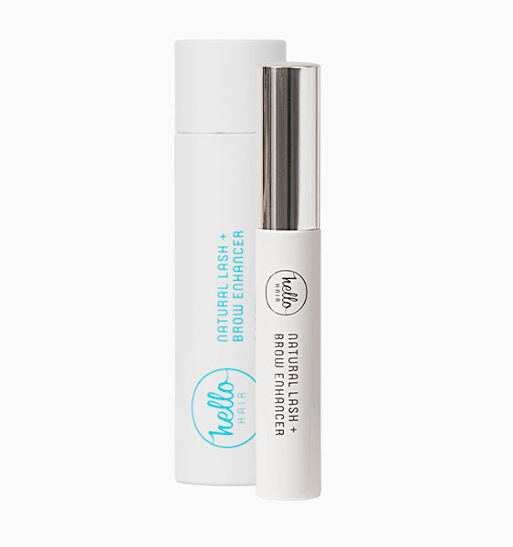 HELLO HAIR NATURAL LASH + BROW ENHANCER