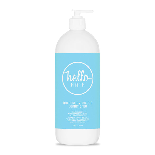 Hello Hair Natural Hydrating Conditioner 1L
